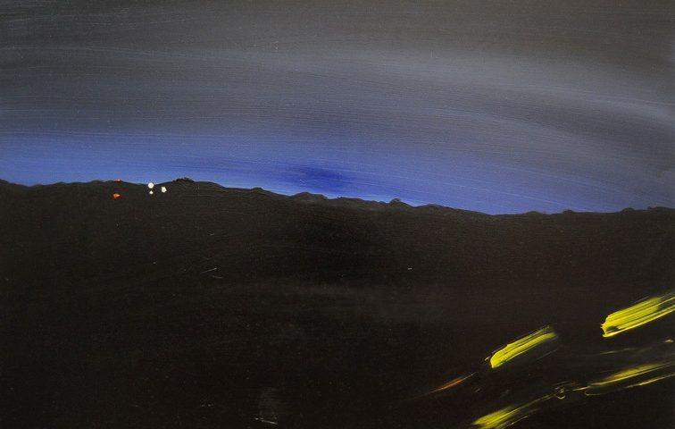 orizzonte blu